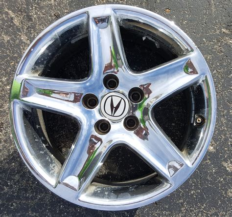 2004 Acura Tl Wheels by Sold 17 Quot Oem Chrome Wheels 2004 6mt Tl Acurazine