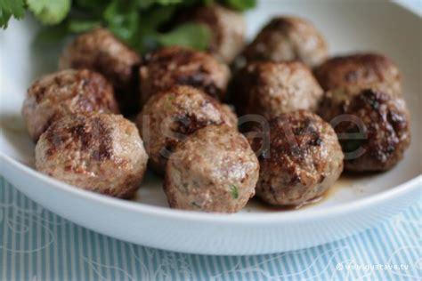 comment cuire boulette de viande