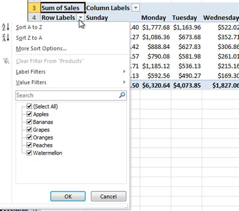 excel pivot table tutorial excel pivot table tutorial