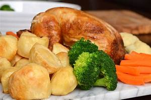 Traditional British Roast Dinner - Cheshire Farm Chips
