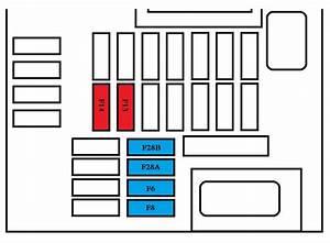 Peugeot 308 Mk2  2013 - 2015  - Fuse Box Diagram