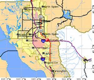 Uintah County Utah Map