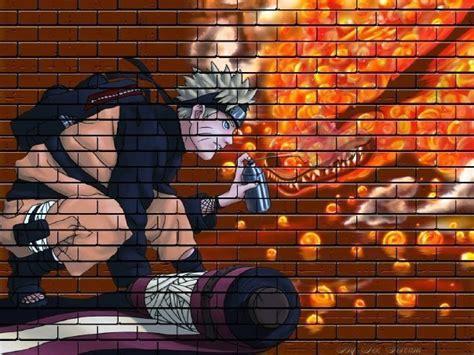 Grafiti Naruto : Imagenes De Naruto En Graffitis