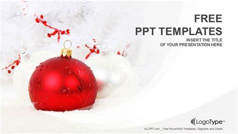 christmas decoration powerpoint templates