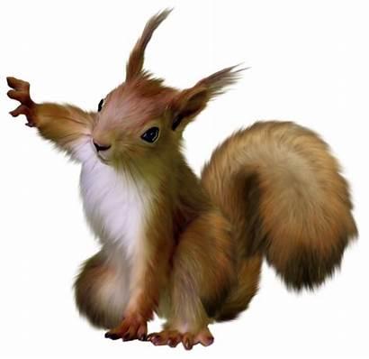 Squirrel Clipart Painted Animals Transparent Yopriceville