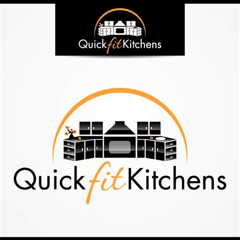 Business Logo Design For Quickfitkitchens By Tectutive