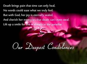 Best Condolence... Good Short Rip Quotes
