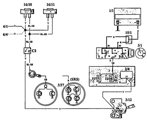 volvo 940 1993 wiring diagrams horn carknowledge