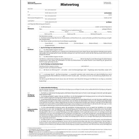 """Sigel Vordruck """"mietvertrag"""", A4, 4seitig Mv464 Bei Www"""
