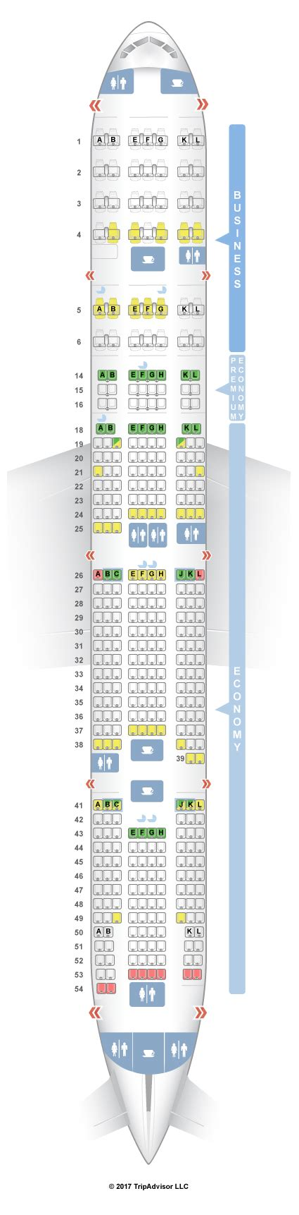boeing 777 300er sieges seatguru seat map air boeing 777 300er 77w three