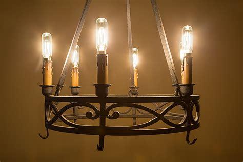 led vintage l t8 led filament bulb 40 watt equivalent candelabra led