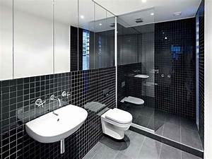 Black and white tiles bathroom designs quotes for Black and white bathroom tile design ideas