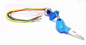 Pocket Bike Key Switch X1 X2 Ignition Switch With Key 4