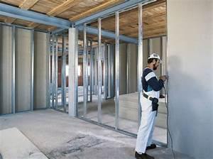 Stahlträger Tragende Wand Einsetzen : knauf metallst nderw nde ~ Lizthompson.info Haus und Dekorationen
