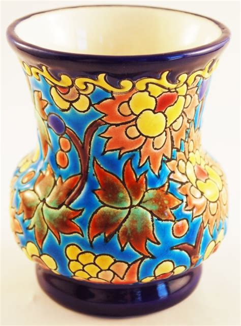 images  longwy pottery  pinterest