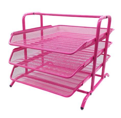3 tier desk organizer mesh 3 tier letter tray desk organizer office supplies