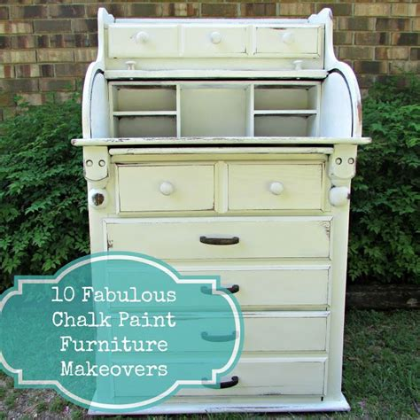 10 fabulous furniture makeovers using chalk paint before