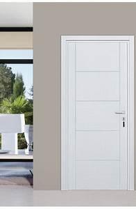 porte maison interieur blanche With porte de garage enroulable et porte intérieure blanche vitrée
