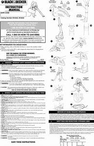 Black  U0026 Decker Bv2500 Type 3 User Manual Blower Manuals