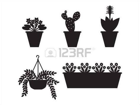 flower silhouette psd eps vector format