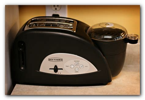 Back To Basics Egg And Muffin Toaster - seriously the best invention kevin amanda