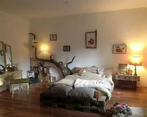 Bett Aus Holzpaletten : noch 64 schlafzimmer ideen f r m bel aus paletten ~ Michelbontemps.com Haus und Dekorationen