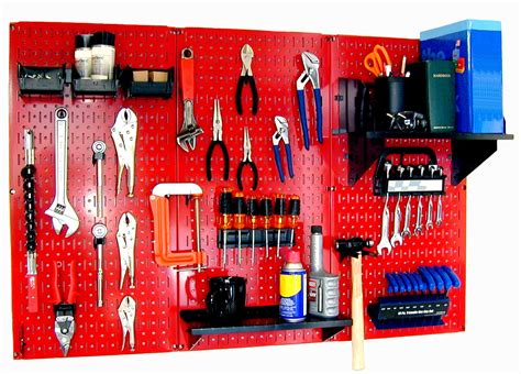 wall control standard workbench metal pegboard tool