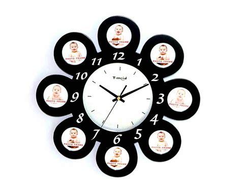 China Photo Frame Wall Clock (m7021b)