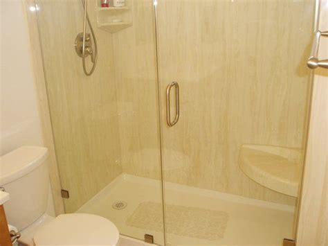 Best Way To Clean Marble Shower by Best 25 Cultured Marble Shower Ideas On