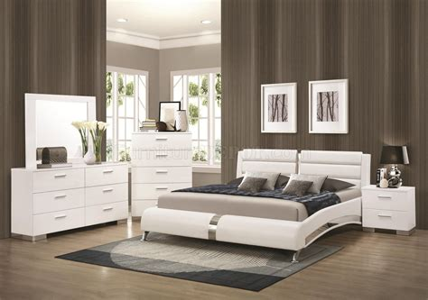 Modern White Bedroom Furniture Wood