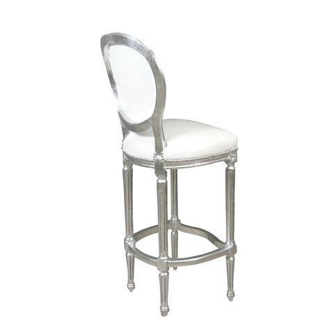 chaise baroque blanche chaise baroque de bar blanche meuble baroque