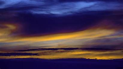 Clouds Sky Sunset 4k Lines Uhd Background