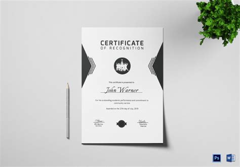 prize certificate templates   documents