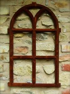 Fenster Mit Rundbogen : eisenfenster mit rundbogen fenster gartenmauer runder bogen fenster v 66x39 ebay ~ Markanthonyermac.com Haus und Dekorationen