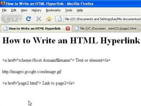 How Create Web Pages Using Html Write