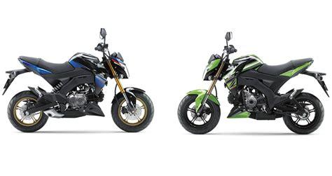 Modification Kawasaki Z125 Pro by New Special Colours For Kawasaki Z125 Pro Revealed
