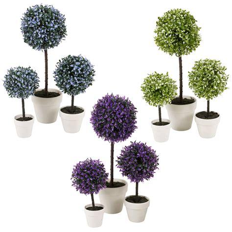 decorative artificial outdoor plant tree pot colour