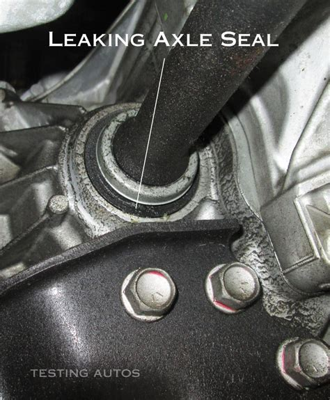 small engine repair training 2013 ford escape security system when does the axle seal need to be replaced in a car
