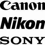 Canon Sony Nikon Icons Vector Psd Svg
