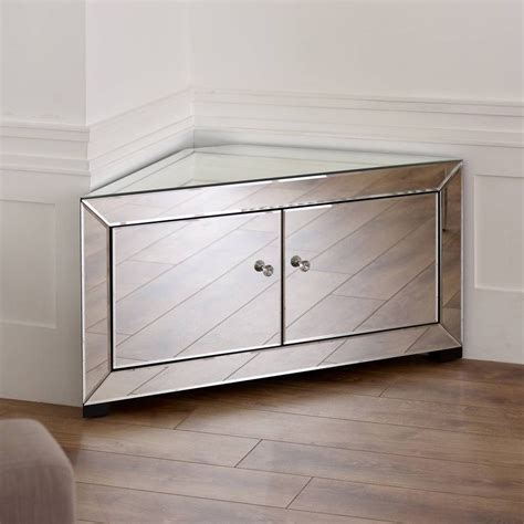 15 Inspirations of Silver Corner Tv Stands