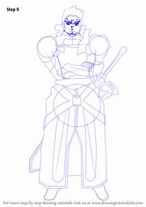 Learn How To Draw Eugene From Sword Art Online  Sword Art