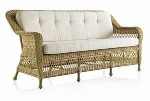 canape de jardin 3 places en resine tressee miel brin d With tapis rouge avec canapé jardin résine tressée