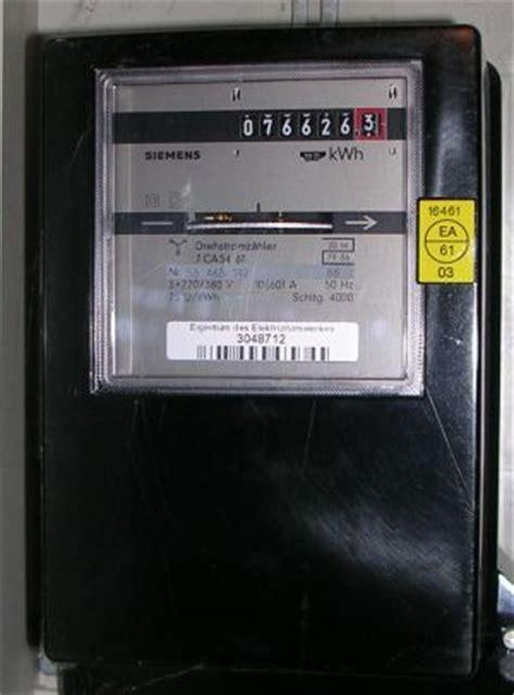 Nebenkostenabrechnung Strom Ohne Zähler by Rp Energie Lexikon Stromz 228 Hler Energiez 228 Hler
