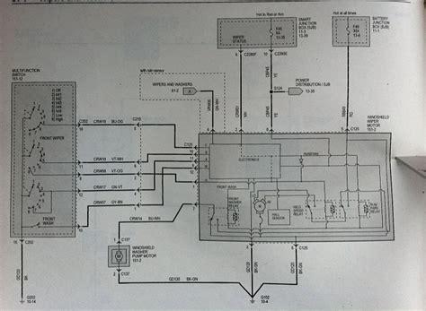 Ford F 150 Wiper Motor Wiring by 2012 F 150 4x4 Lariat Wiper Switch Wiring Ford F150
