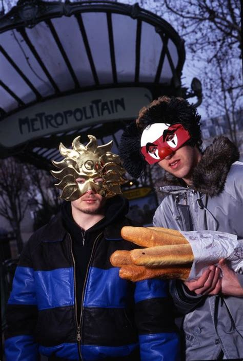 Here's Daft Punk Without Helmets - What Daft Punk's Faces ...