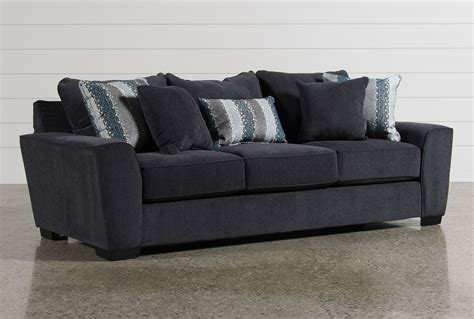 living spaces leather sofa parker sofa living spaces