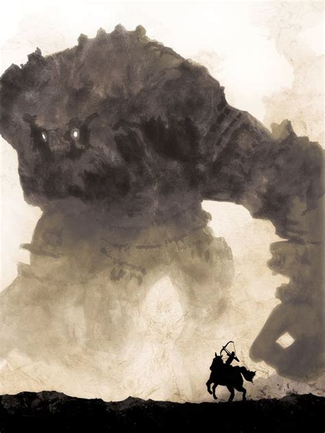Shadow Of The Colossus Poster Large 34 In X 24 In Games