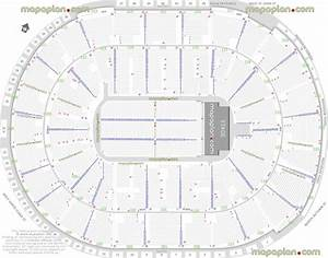 Moda Seating Chart With Seat Numbers Sap Center Seat Row Numbers Detailed Seating Chart San