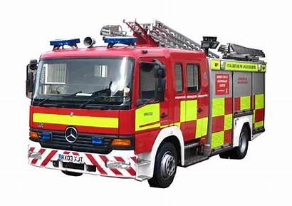 Fire Engine Clipart British Background Emergency Services