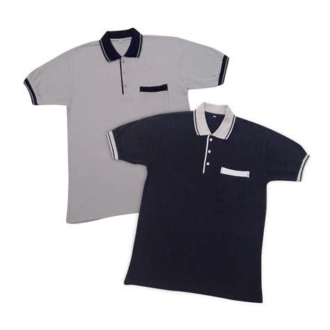 Baju Kaos Youngmodo baju kaos berkerah pria wanita bahan cotton elevenia